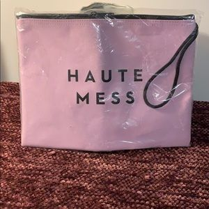 Milly Haute Mess Water Resistant Wristlet
